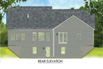 Craftsman House Plan Rear Photo 01 - Aiken Downs Craftsman Home 070D-0748 | House Plans and More