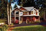 Craftsman House Plan Front Photo 01 - Rooney Craftsman Home 071D-0003 | House Plans and More