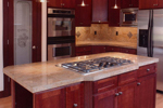 Arts & Crafts House Plan Kitchen Photo 02 - Rooney Craftsman Home 071D-0003 | House Plans and More