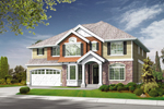 Traditional Home Design Graced With Multiple Exteriors