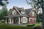 Shingle Home Design With Eclectic Style
