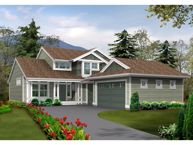 Calshot Arts And Crafts Home Plan 071D-0046   House Plans ... on house plans with rear entry garage, house plans with interior entry garage, house with garage on side, house plans with front screened porch, house plans with front living room, house plans with back entry garage, house plans with front fireplace,