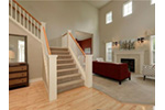 Victorian House Plan Foyer Photo - Lynnbrook Shingle Style Home 071D-0101 | House Plans and More