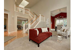 Shingle House Plan Living Room Photo 01 - Lynnbrook Shingle Style Home 071D-0101 | House Plans and More