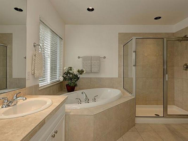Shingle House Plan Master Bathroom Photo 01 - Lynnbrook Shingle Style Home 071D-0101 | House Plans and More