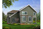 Victorian House Plan Rear Photo 03 - Lynnbrook Shingle Style Home 071D-0101 | House Plans and More