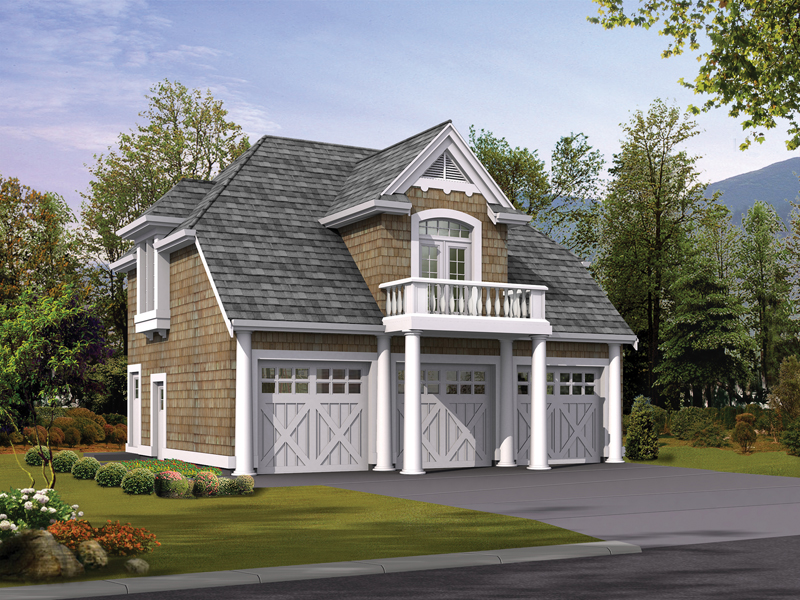 Lida Apartment Garage Plan 071D-0246 | House Plans and More