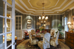 Traditional House Plan Dining Room Photo 01 - Horton Manor Luxury Home 071S-0001 | House Plans and More