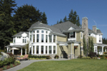 Traditional House Plan Rear Photo 02 - Horton Manor Luxury Home 071S-0001 | House Plans and More
