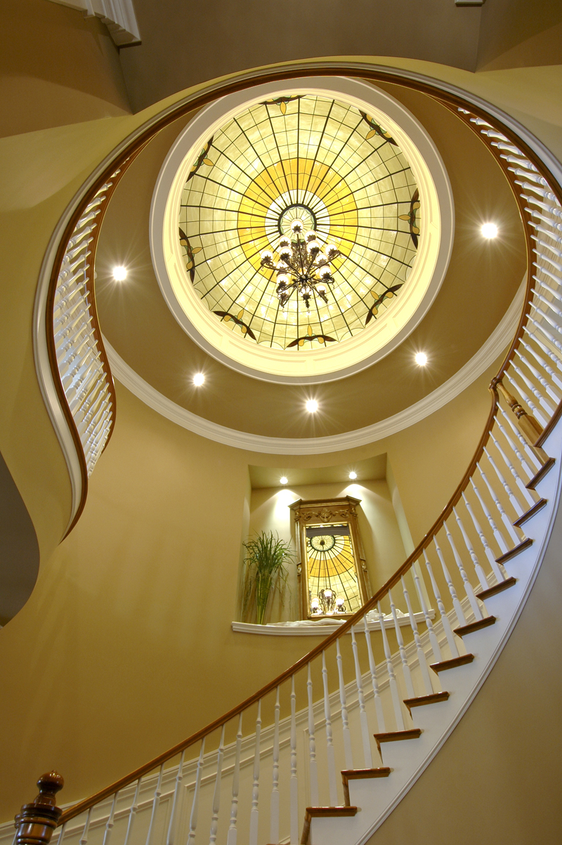 Traditional House Plan Stairs Photo - Horton Manor Luxury Home 071S-0001 | House Plans and More