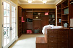 Shingle House Plan Closet Photo 01 - Parktowne Luxury Home 071S-0002 | House Plans and More