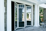 Shingle House Plan Door Detail Photo - Parktowne Luxury Home 071S-0002 | House Plans and More