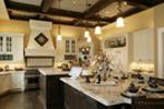 Shingle House Plan Kitchen Photo 01 - Parktowne Luxury Home 071S-0002 | House Plans and More