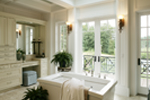 Shingle House Plan Master Bathroom Photo 01 - Parktowne Luxury Home 071S-0002 | House Plans and More