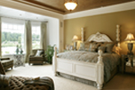 Shingle House Plan Master Bedroom Photo 01 - Parktowne Luxury Home 071S-0002 | House Plans and More