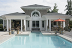 Shingle House Plan Pool Photo - Parktowne Luxury Home 071S-0002 | House Plans and More