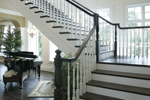 Shingle House Plan Stairs Photo - Parktowne Luxury Home 071S-0002 | House Plans and More