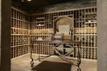 Shingle House Plan Wine Cellar Photo - Parktowne Luxury Home 071S-0002 | House Plans and More