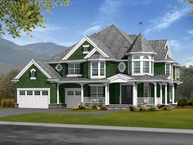 Victorian House Plan Front Image - Chambly Victorian Home 071S-0004 | House Plans and More