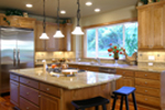 Victorian House Plan Kitchen Photo 01 - Hailey Spring Craftsman Home 071S-0006 | House Plans and More