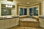 Victorian House Plan Master Bathroom Photo 02 - Hailey Spring Craftsman Home 071S-0006 | House Plans and More