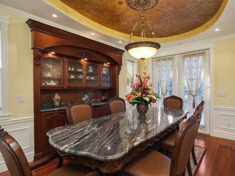 Shingle House Plan Dining Room Photo 01 - Geyer Victorian Home 071S-0007 | House Plans and More