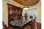 European House Plan Dining Room Photo 01 - Geyer Victorian Home 071S-0007 | House Plans and More