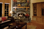 Shingle House Plan Family Room Photo 01 - Geyer Victorian Home 071S-0007 | House Plans and More