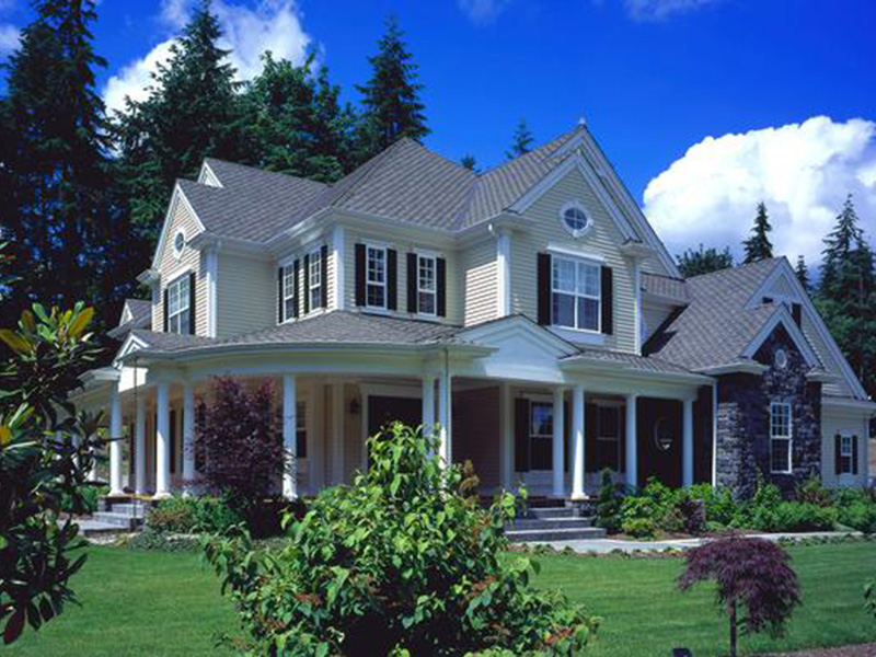 Shingle House Plan Front Photo 03 - Geyer Victorian Home 071S-0007 | House Plans and More