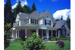 European House Plan Front Photo 03 - Geyer Victorian Home 071S-0007 | House Plans and More