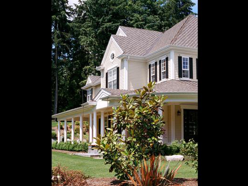 Shingle House Plan Front Photo 06 - Geyer Victorian Home 071S-0007 | House Plans and More