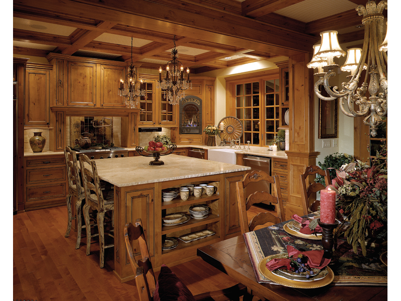 Shingle House Plan Kitchen Photo 01 - Geyer Victorian Home 071S-0007 | House Plans and More