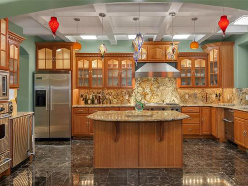 Shingle House Plan Kitchen Photo 02 - Geyer Victorian Home 071S-0007 | House Plans and More