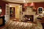 European House Plan Living Room Photo 01 - Geyer Victorian Home 071S-0007 | House Plans and More