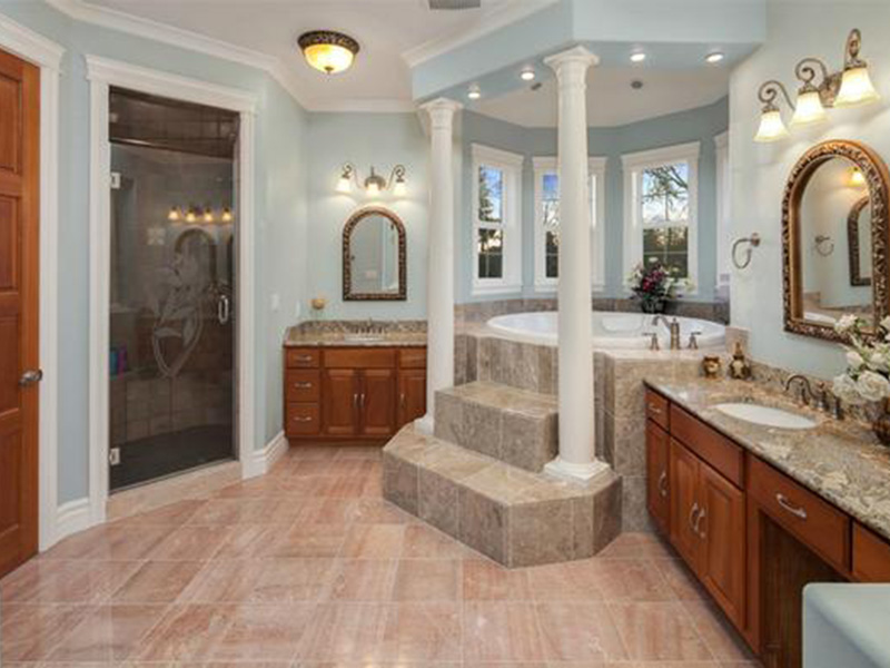Shingle House Plan Master Bathroom Photo 02 - Geyer Victorian Home 071S-0007 | House Plans and More