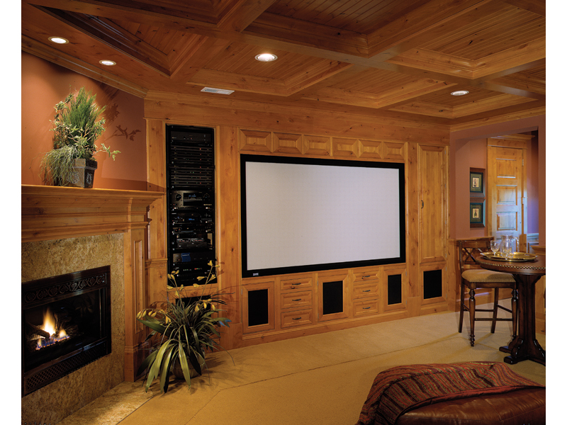 Shingle House Plan Theater Room Photo 01 - Geyer Victorian Home 071S-0007 | House Plans and More