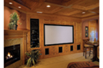 European House Plan Theater Room Photo 01 - Geyer Victorian Home 071S-0007 | House Plans and More