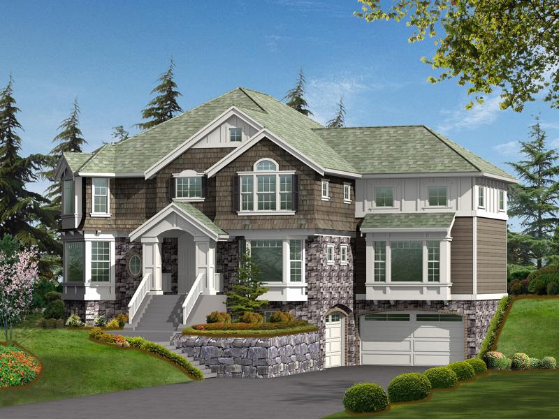 Amazing Luxury Home Boasts Multiple Bay Windows