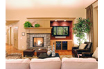 Southern House Plan Family Room Photo 02 - Mozart Point Craftsman Home 071S-0011 | House Plans and More