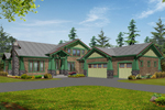 Southern House Plan Front Image - Mozart Point Craftsman Home 071S-0011 | House Plans and More