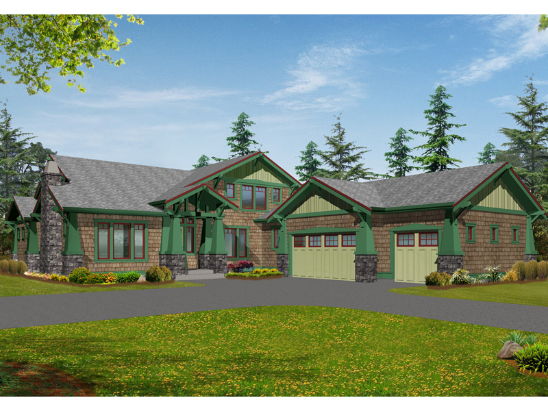 Rustic Craftsman Style House Design
