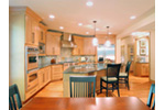 Southern House Plan Kitchen Photo 02 - Mozart Point Craftsman Home 071S-0011 | House Plans and More