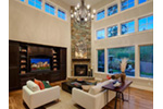 Craftsman House Plan Family Room Photo 01 - Longhorn Creek Rustic Home 071S-0012 | House Plans and More