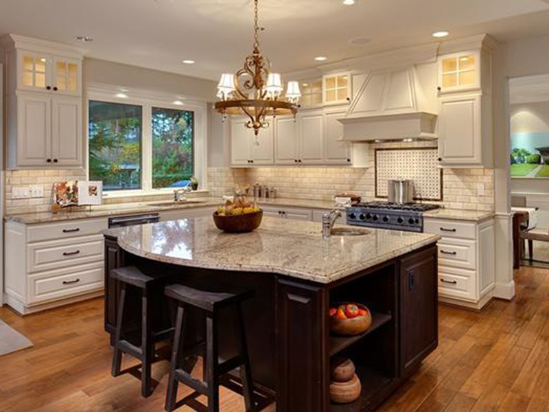 Craftsman House Plan Kitchen Photo 01 - Longhorn Creek Rustic Home 071S-0012 | House Plans and More