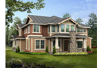 Craftsman House Plan Color Image of House - Longhorn Creek Rustic Home 071S-0012 | House Plans and More