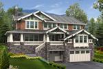 Stone And Shingled Raised Craftsman House