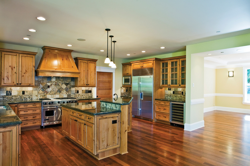 Arts & Crafts House Plan Kitchen Photo 02 - Ackerman Place Craftsman Home 071S-0019 | House Plans and More