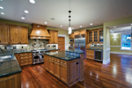 Arts & Crafts House Plan Kitchen Photo 03 - Ackerman Place Craftsman Home 071S-0019 | House Plans and More