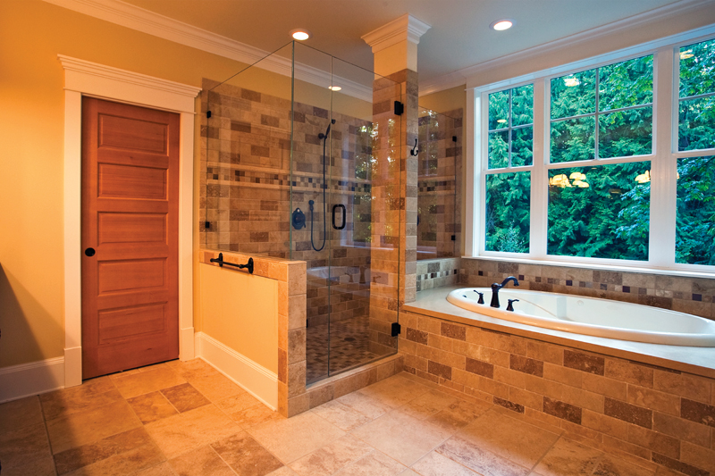 Arts & Crafts House Plan Master Bathroom Photo 01 - Ackerman Place Craftsman Home 071S-0019 | House Plans and More