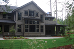 Arts & Crafts House Plan Rear Photo 02 - Ackerman Place Craftsman Home 071S-0019 | House Plans and More
